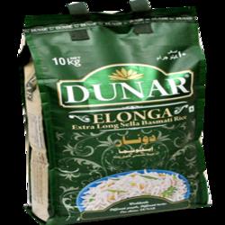 Dunar Elonga Parboiled 10kg Extra Long Basmati Rice