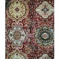 Multicolor Embroidered Floor Carpet