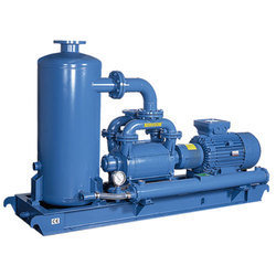 Aluminium Gardner Denver KRVS Liquid Ring Vacuum Unit, Capacity: 4, 200 Meter Que/h, Single stage