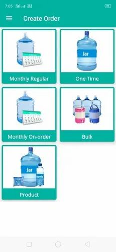 Water Supplier Android Application