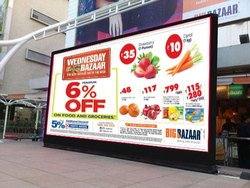 Outdoor Adverting LED Display Wall