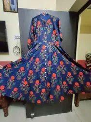 W Style Rayon Ghera Kurti