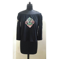 Full Sleeves Embroidered Top