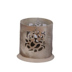 Rawsome shack Metal Candle Holder