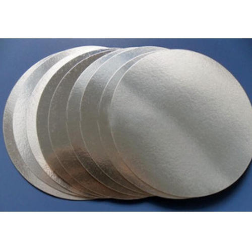 Round, Rectange Silver, White Embossed Aluminum Foil Seals