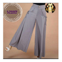 Ladies Grey Color Palazzo Pants