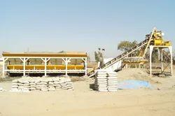 Electric Automatic Mobile Concrete Plant