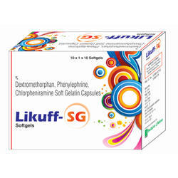 Dextromethorphan and Chlorpheniramine Soft Gelatin Capsules