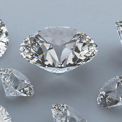 Real Round Cut Diamond
