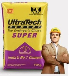 PPC (Pozzolana Portland Cement) Ultratech Super Cement, Packaging Type: Hdpe Sack Bag