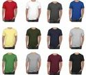 Mens Plain Round Neck T Shirt