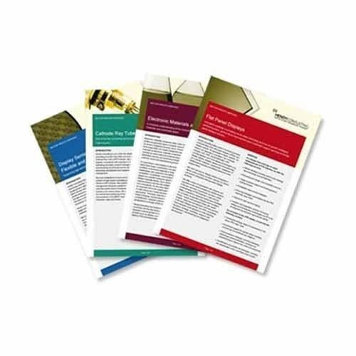 Paper Brochures Printing Service