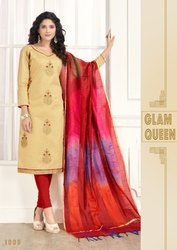 churidar cotton suit