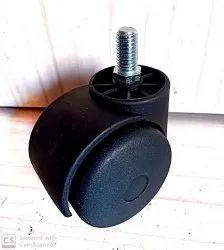 50mm Thread Twin Wheel Caster
