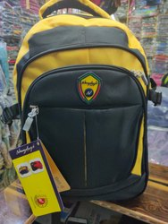 Yellow & Black Laptop Bag