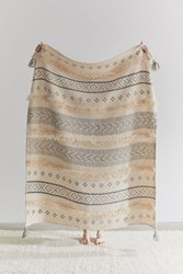 Bohemian Moroccan Throws Blankets Aztec Pattern Boho Throws Luxury Geometric Throws For Bed Couch