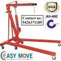 Easy Move Mini Crane Floor Hydraulic Crane, Em 125, 0-5 Ton