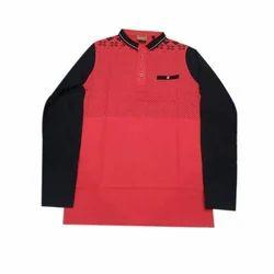 Large Cotton Collar T Shirts