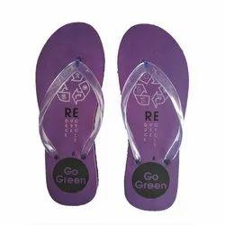 Breezy Ladies Purple EVA Slipper, Size: 4 To 8
