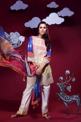76c81f572c Pakistani Wedding Suits at Rs 1500 /piece | Pakistani Lawn Suit | ID ...