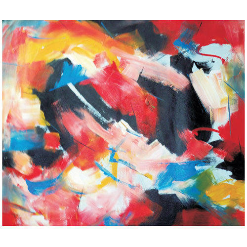 Abstract Painting, Size: 36 X 48 Inches