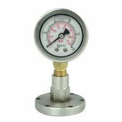 Flanged Type Sealed  Diaphragm Pressure Gauges