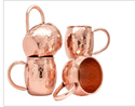 Moscow Mule Copper Mugs Set of 4