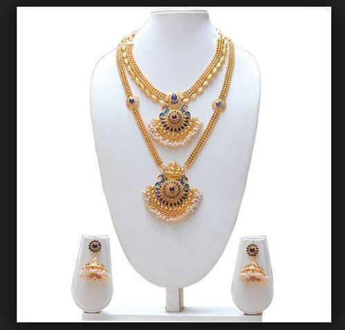 Party Wear Imitation Necklace Set Rs 150 Set Usk Supplier Id
