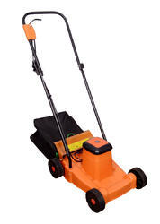 Unison Orange Electric Rotary Lawn Mower, 20 Inches Approx, 3/4 To 2 Inches