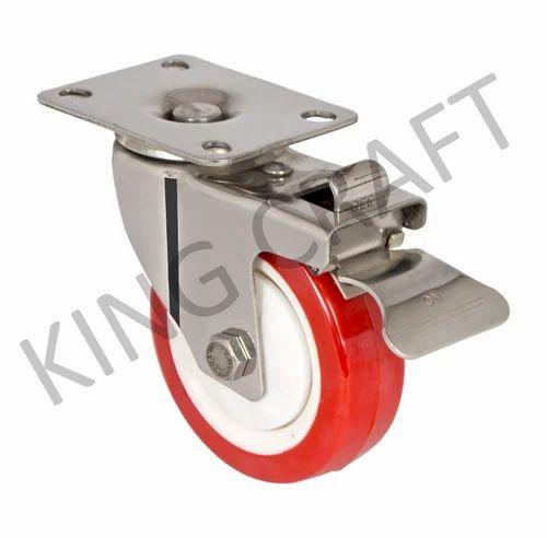 Stainless Steel Die Pressed Caster Wheel