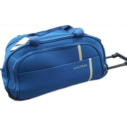 a172e13fa6 Polyster Magnum Duffle Trolley Bag