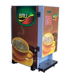 6 Option Bru Vending Machine On Rent