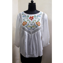 Boho Embroidery Blouse