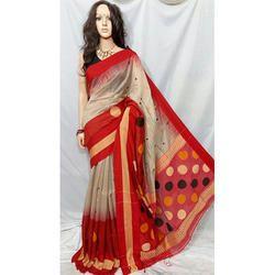 Trendy Cotton Silk Handloom Saree