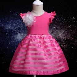 Beautiful Applique Cap Sleeve Dress
