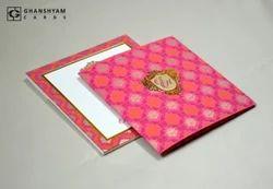 Pink Designer Wedding Card GC 2023