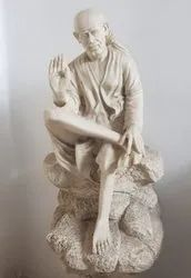 White Fiber Glass Statues, Size/Dimension: 2 Ft Height