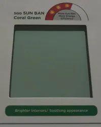 3.5 MM, 4 MM, 5 MM, 6 MM Reflectasol Saint Gobain Reflective Green Glass