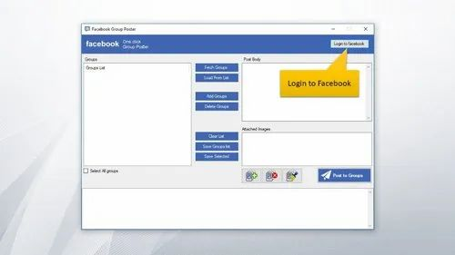 Facebook Group Posting Software in Bhopal, Scom Technologies