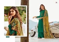 Khwab By Deepsy Pashmina Printed Embroidery Salwar Suit For Winter Collection