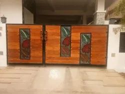 Designer Wooden Gate