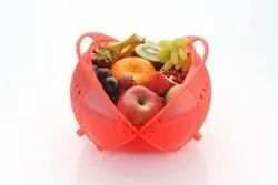 Apex Plastic Fruit and Vegetables Washing Storage Basket