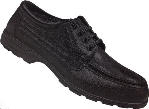 3cc7b70aeef ISI, CE Approved Safety Shoes - Black Leather Steel Toe Safety Shoes ...