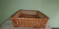Rectangular Cane Multipropose Basket