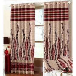 Modern Jute Panel Curtain
