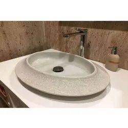 Capstona Domed Marble Wash Basin