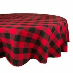 Cotton Round Tablecloth