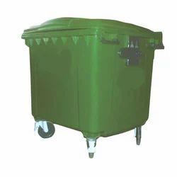 Green Industrial Waste Bins