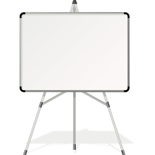 White Board With Stand For School
