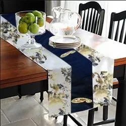 Multicolor Home Pratibimb Designer Rectangular Table Runner